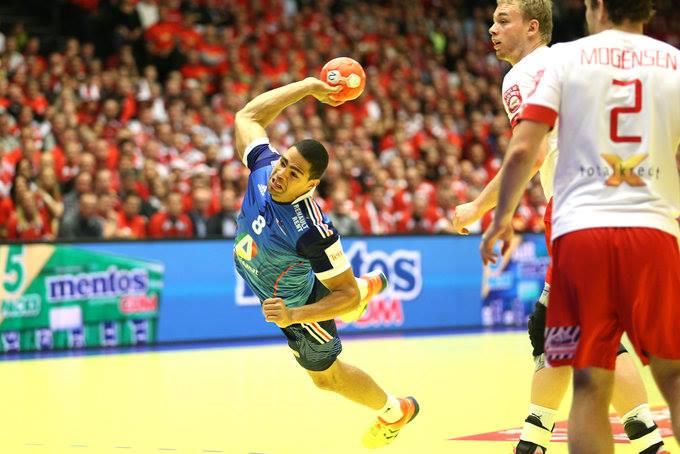 Daniel Narcisse, eleito o melhor jogador da final / Fonte: Den2014.ehf-euro.com/
