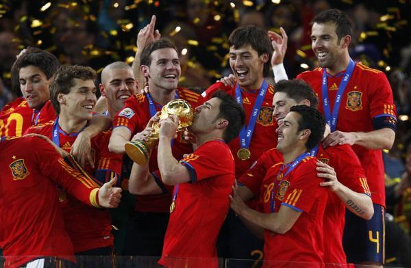 Villa foi o melhor marcador do Campeonato do mundo em 2010. / Fonte: The Sun