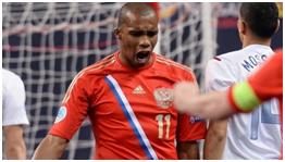 Cirilo, autor do 1º golo do Euro 2014 / Fonte: Uefa.com