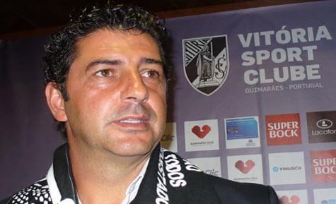 Treinador do Guimarães, Rui Vitória.  diariodigital.sapo.pt