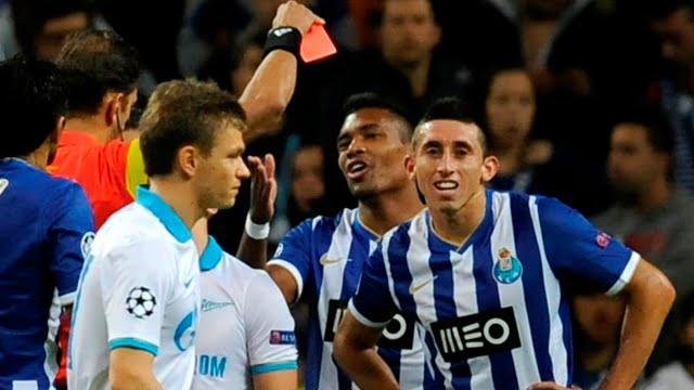 Que a estreia de Herrera na Liga Europa dure mais do que seis minutos Fonte: trivela.uol.com.br