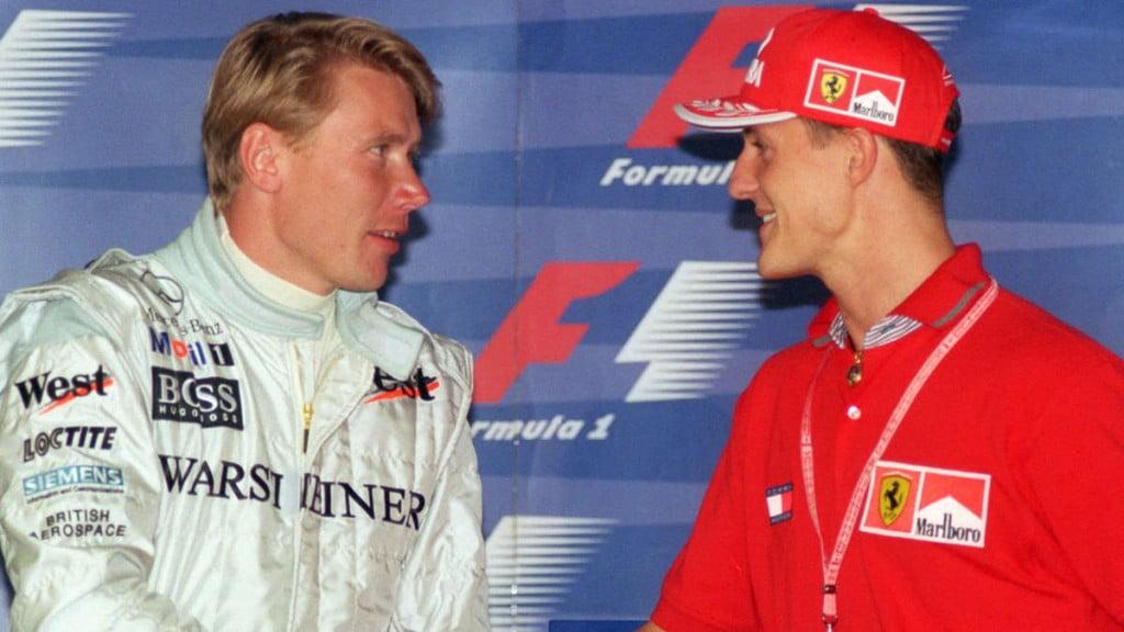 Schumacher e Häkkinen -  rivais e amigos Fonte: tz.de