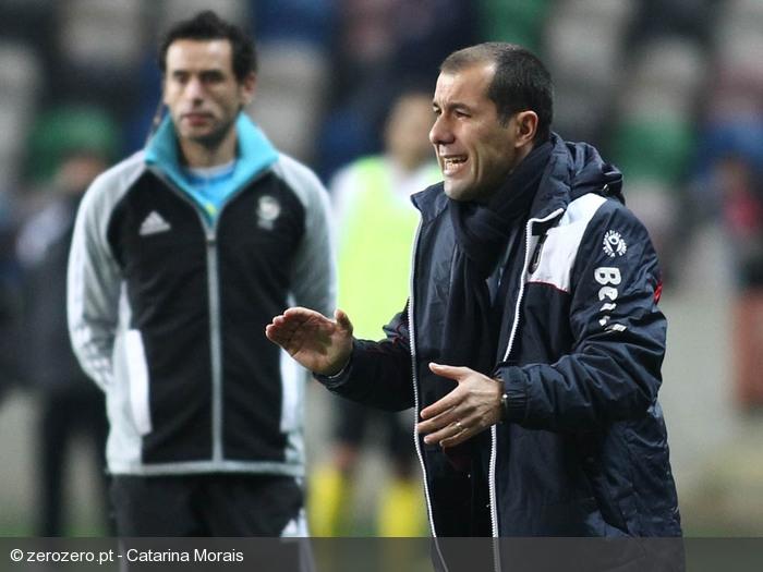 O Madeirense voltou a gerir bem o jogo Fonte: ZeroZero