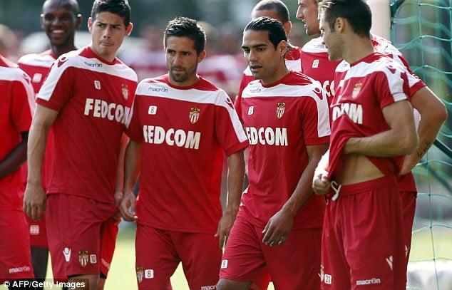João Moutinho, James e Falcao são alguns dos nomes sonantes do Monaco