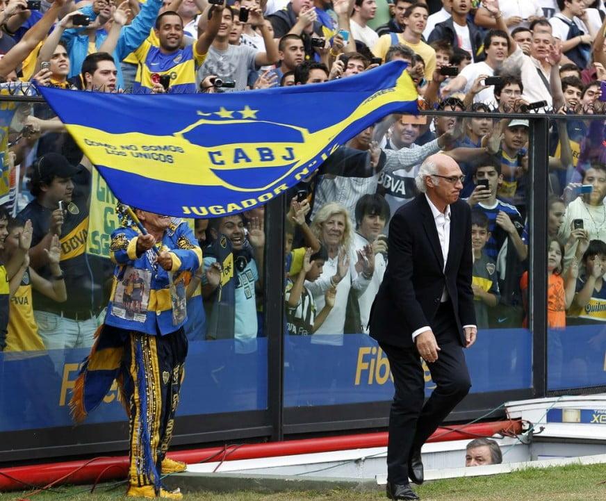 Carlos Bianchi no seu regresso ao Boca Fonte: vivelohoy.com
