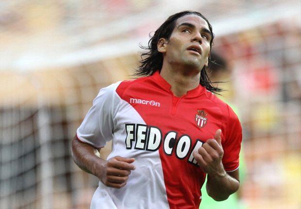 Falcao foi a grande baixa do Monaco Fonte: goal.com
