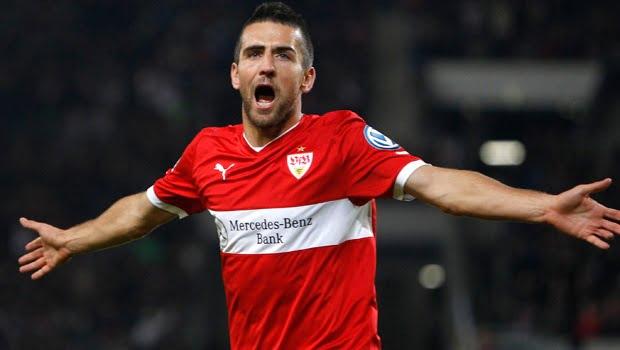 Apesar dos 10 golos de Ibisevic, o VfB Stuttgart vive momentos de aflição para se manter na primeira divisão alemã Fonte: stlbosnians.com