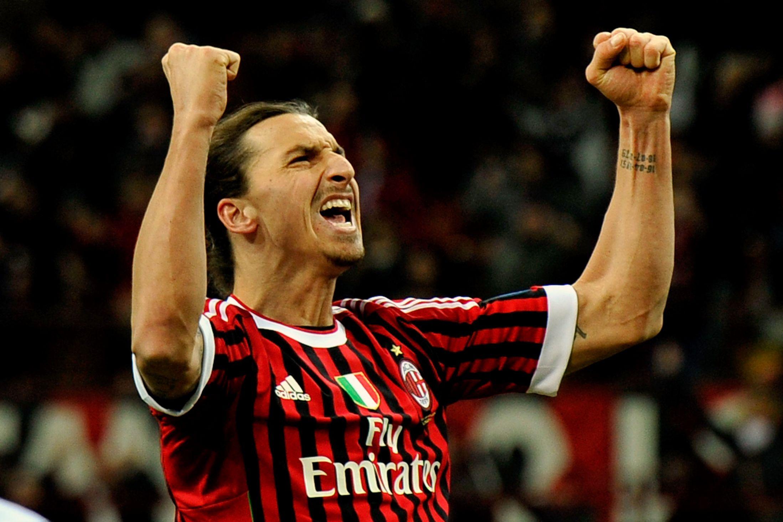 O AC Milan representou a a última etapa de uma profícua carreira no Calcio  Fonte: scaryfootball.com