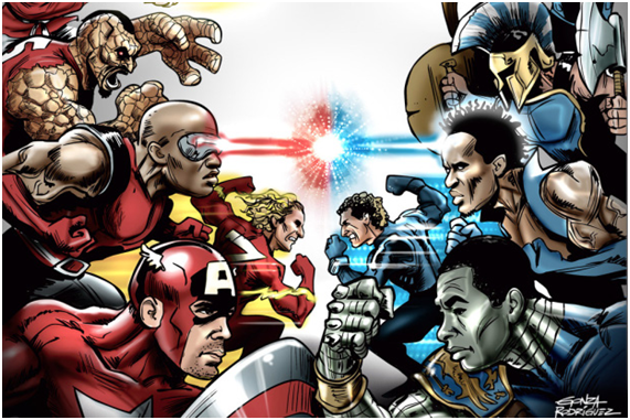 GreNal, um clássico de super-heróis Fonte: zerohora.clicrbs.com.br