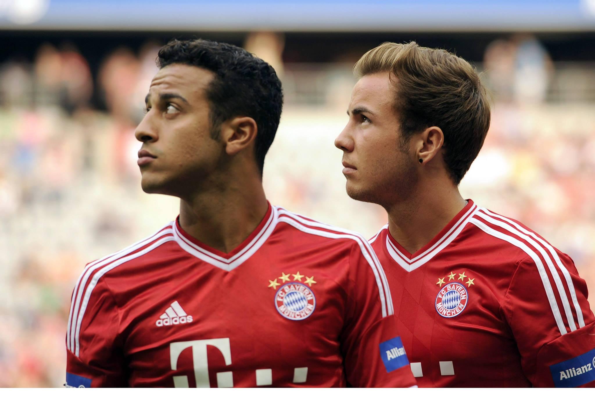 Götze chegou do Borussia Dortmund por 37 milhões de euros, enquanto Thiago Alcântara deixou o Barcelona por 25 milhões Fonte: Fmkorea.net
