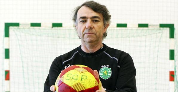 Frederico Santos, o treinador que tem levado o Sporting à glória Fonte: Sporting.pt