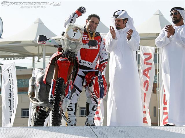 A alegria voltou a Paulo Gonçalves depois do grande azar no Dakar Fonte: Motorcycle-usa.com/