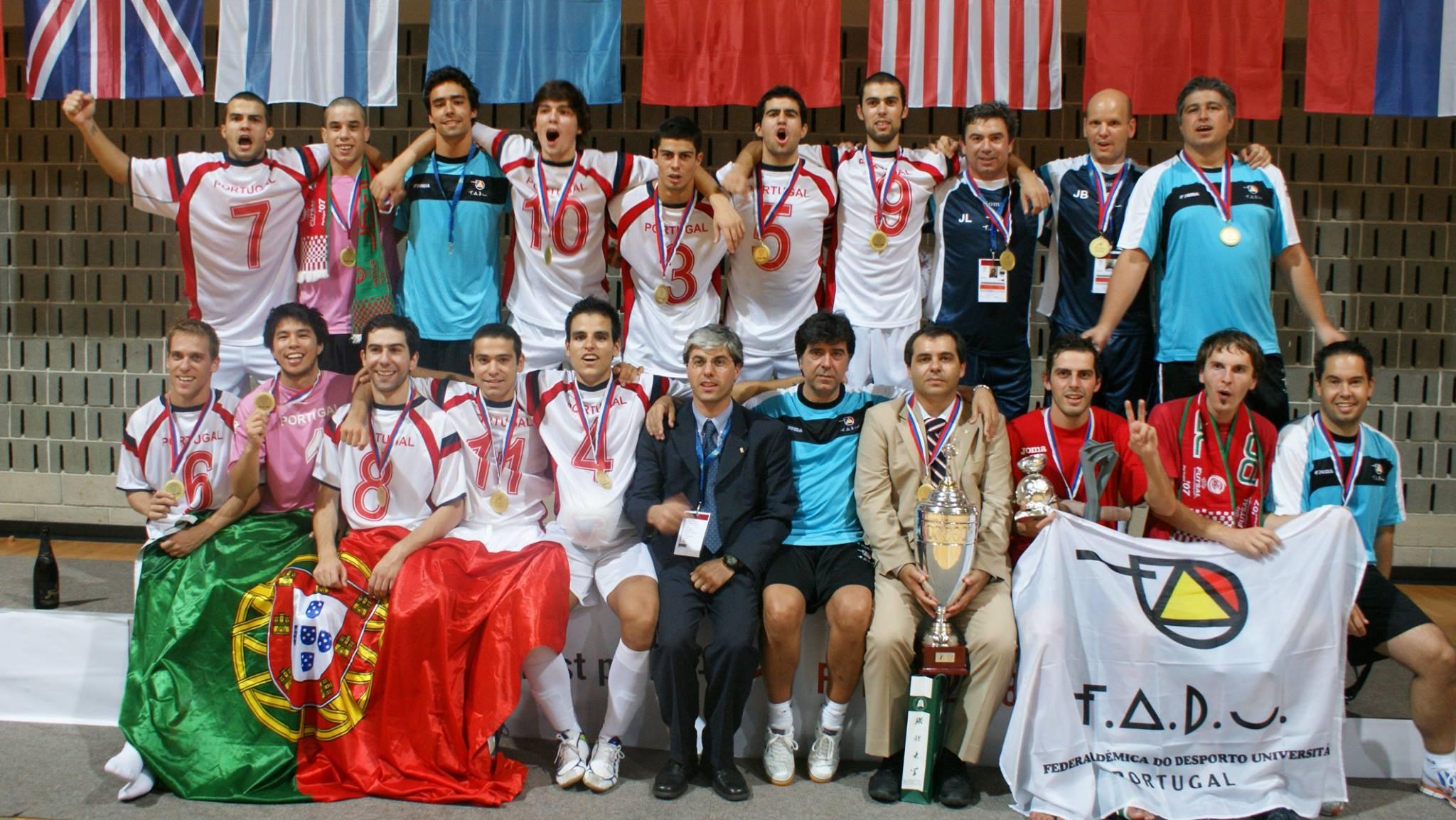 Em Koper, na Eslovénia, onde se sagrou Campeão Mundial Universitário (2008)