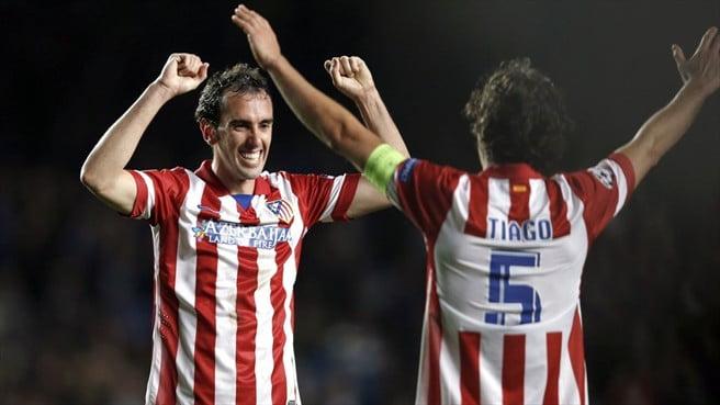 Godín e Tiago, os símbolos da experiência neste Atlético  Fonte: UEFA