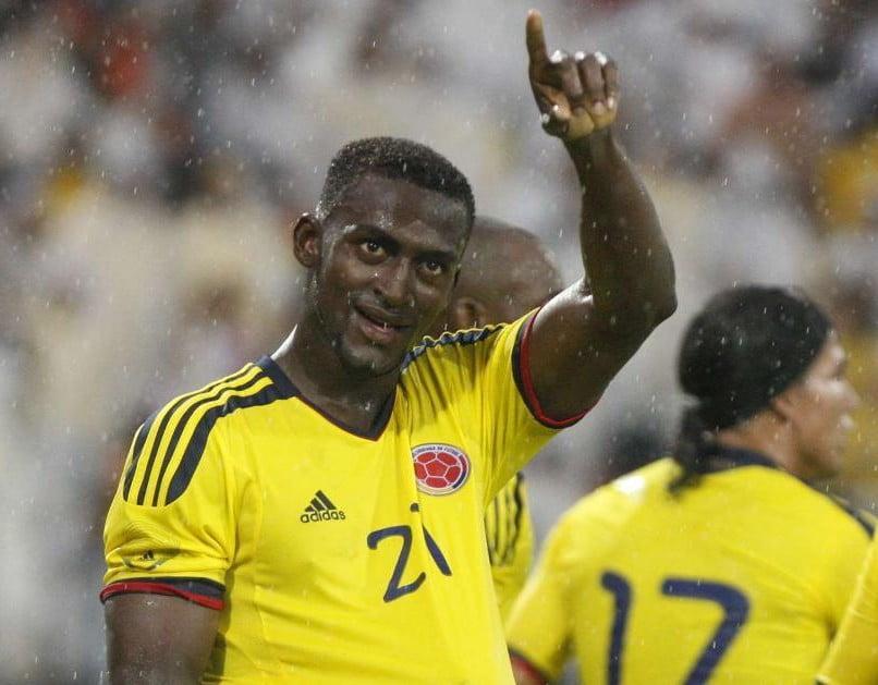 Jackson Martínez é uma das certezas no plantel da Colômbia  Fonte: eltiempo.com