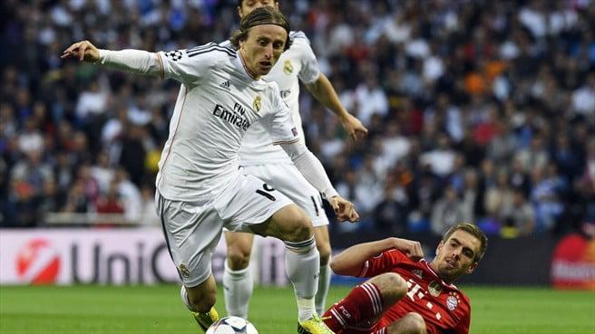Modric rubricou uma exibição assombrosa  Fonte: UEFA