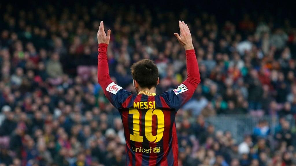 Leo Messi foi uma das desilusões da temporada culé