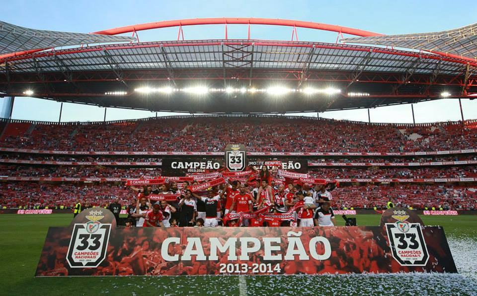 Um escusado empate que não ofuscou uma enorme festa Fonte: Facebook oficial do Sport Lisboa e Benfica