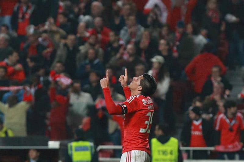 Enzo é um jogador à Benfica Fonte: chuto.pt
