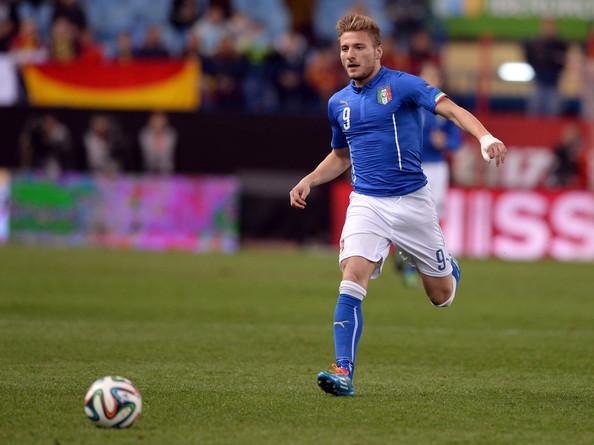 Immobile na sua estreia pela squadra azzurra, este ano, num amigável contra a Espanha  Fonte: zimbio.com