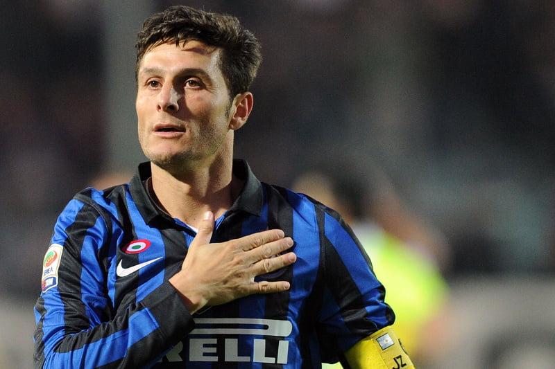 Zanetti é o jogador do Inter com mais jogos na Serie A Fonte: futbolizados.com