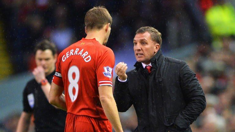 Gerrard e Rodgers são dois pilares fundamentais que se mantêm para a próxima época Fonte: Sky Sports