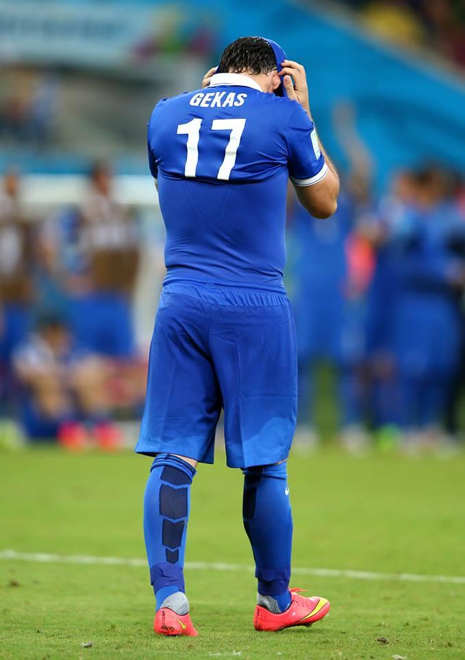A tristeza de Gekas Fonte: FIFA