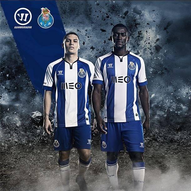 Quintero e Jackson serviram de modelos dos novos equipamentos. Fonte: Instagram do FC Porto