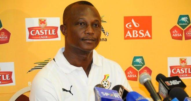 Kwesi Appiah, o técnico do Gana Fonte: Ghanasoccernet.com