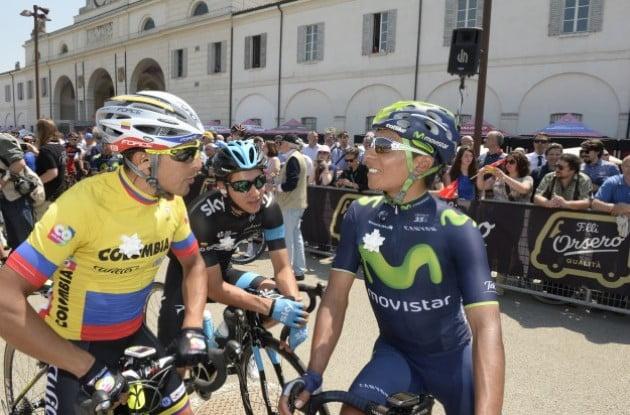 Uran e Quintana  Fonte: www.cyclingweekly.co.uk