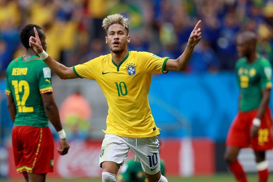 Neymar é o líder da equipa da casa e já leva 4 golos marcados no Mundial  Fonte: UOL