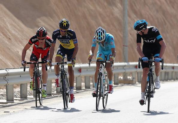 Froome, Contador e Nibali, os três grandes favoritos para a edição deste ano  Fonte: zimbio.com