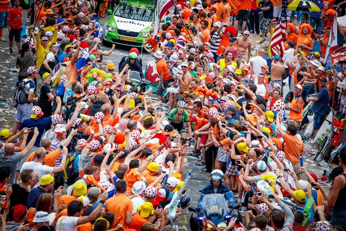 A festa habitual nas montanhas francesas   Fonte: cyclingtips.com.au