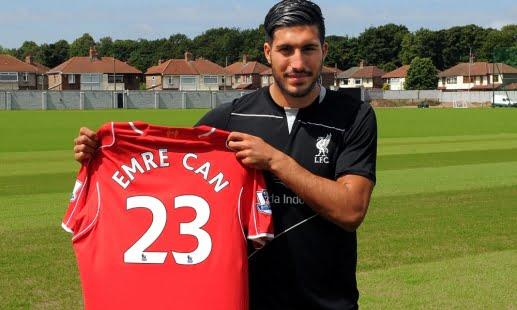 Emre vem dar muito músculo ao meio campo dos reds Foto: Liverpool FC