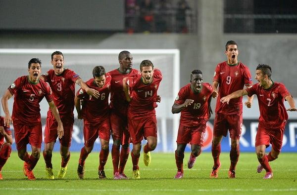 O momento que levou Portugal à final do Euro'2014 de Sub-19 Fonte: FPF