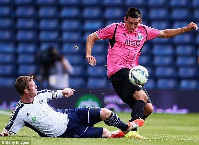 Herrera tem deixado boas indicações e deverá começar a época como titular  Fonte: Daily Mail