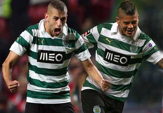 Rojo e Slimani são dois jogadores que não podem ser postos à frente do grupo  Fonte: chuto.pt