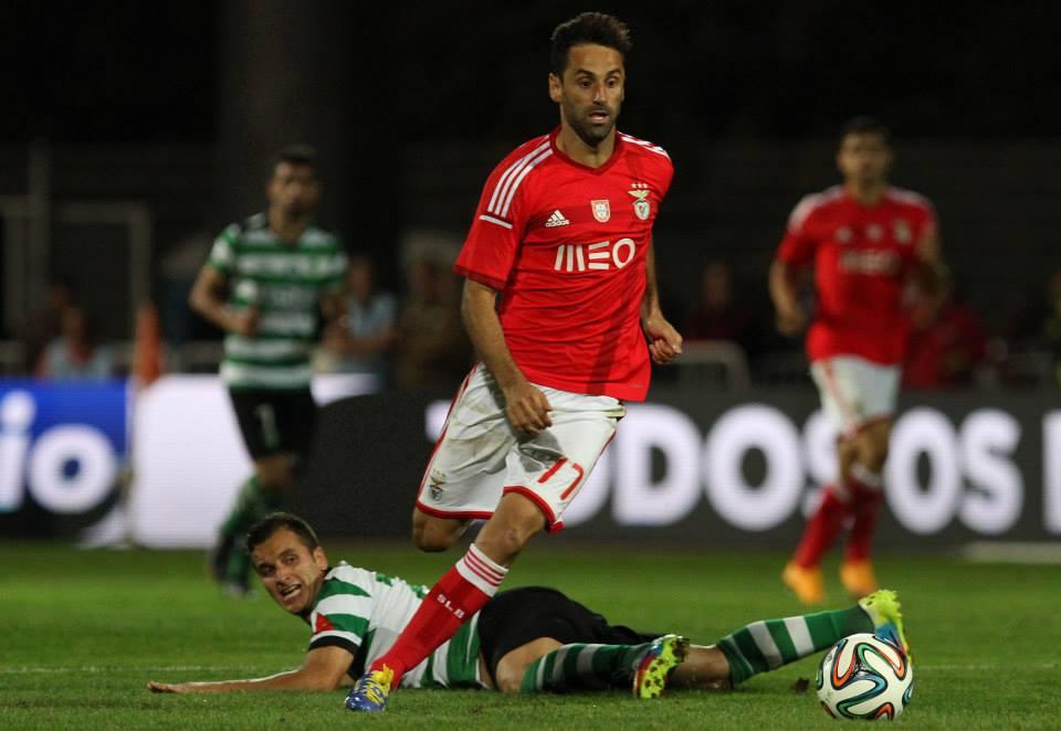 Mágico Fonte: Facebook do Sport Lisboa e Benfica