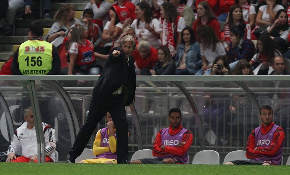 Jorge Jesus falhou Fonte: Facebook Benfica