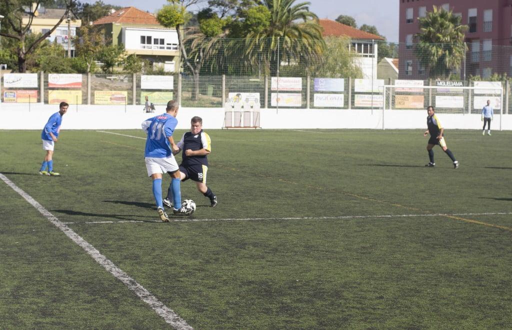 Os jogadores do Hospital Santa Maria mostram que o talento está lá Foto: Pedro Moura