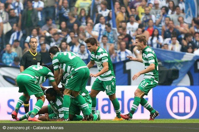 Nani marcou o golo que lançou o Sporting para uma vitória especial no Dragão
