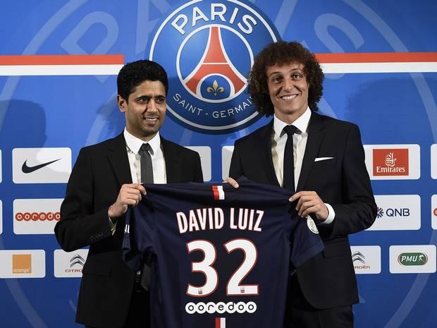 David Luiz ainda tem de suar muito para provar os 50 milhões de euros investidos  Fonte: independent.co.uk
