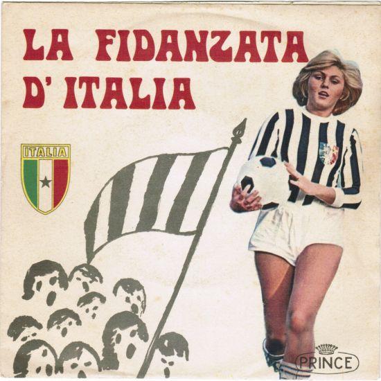 La Fidanzata d'Italia - o clube com mais adeptos em Itália  Fonte: 45football.com