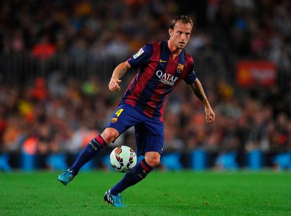 Rakitic tem-se assumido como o novo maestro do Barça  Fonte: news.zing.vn