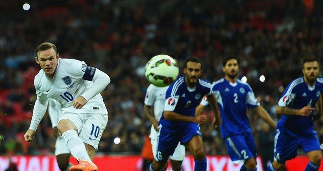 O incontornável Wayne Rooney não poderia, claro, ficar de fora da lista de marcadores  Fonte: Sky Sports