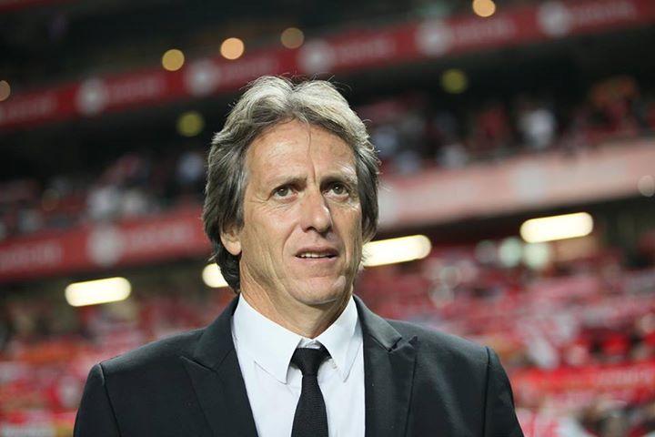 Jorge Jesus tem muito trabalho pela frente Fonte: Facebook do Sport Lisboa e Benfica