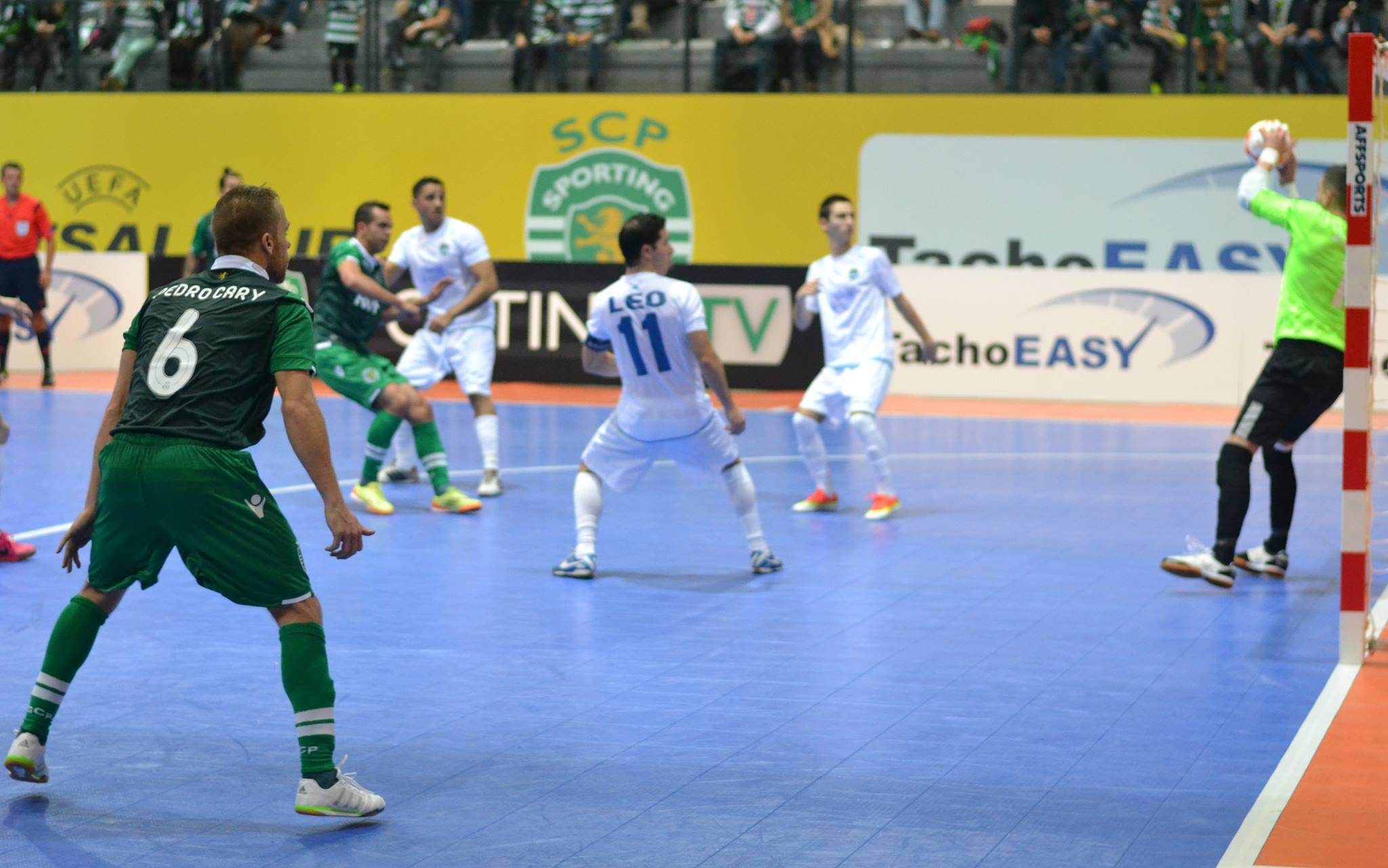 Pedro Cary foi um dos destaques com dois golos marcados