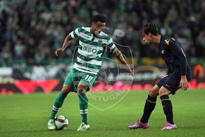 Carrillo tem tido a sua melhor época desde que chegou a Alvaldade em 2011. Fonte: Facebook Oficial do Sporting Clube de Portugal