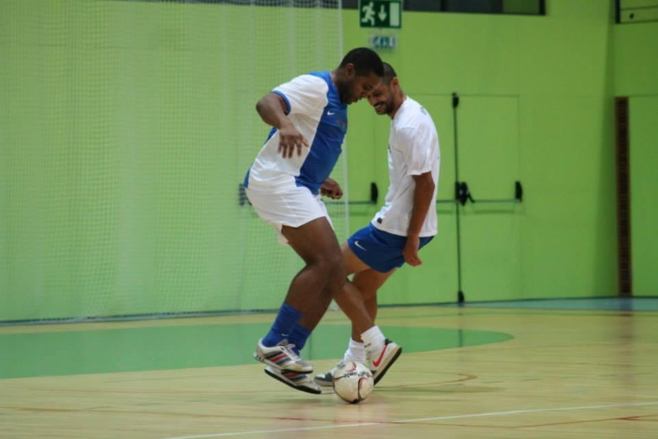 Jorge Andrade e Madjer mostraram que quem sabe nunca esquece
