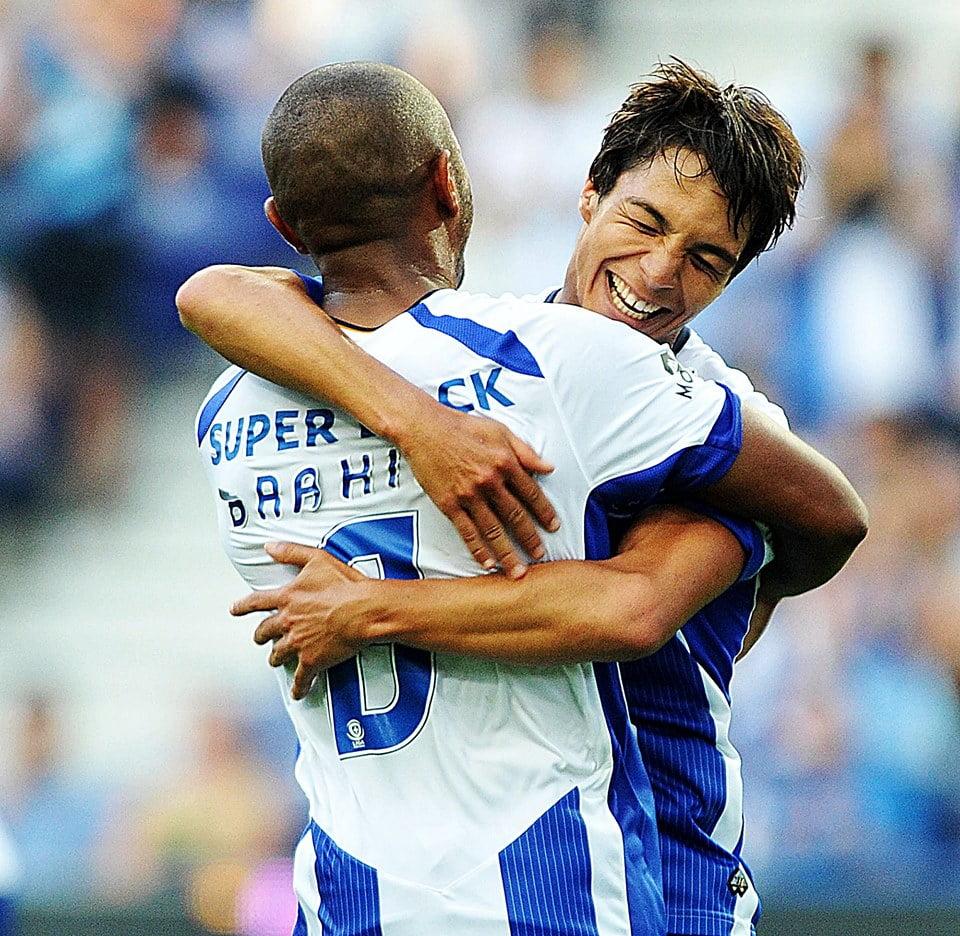 Brahimi e Oliver - dois jogadores fundamentais na posse de bola dos dragões  Fonte: Facebook oficial do FC Porto